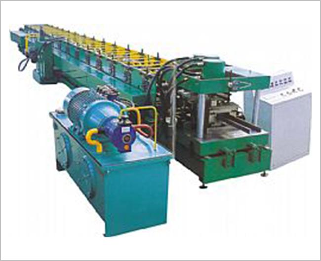 C型钢生产线